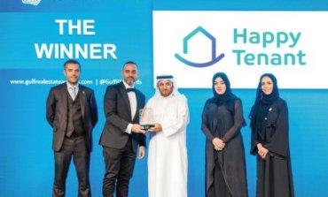 """تطبيق """"HappyTenant""""  يفوز بأهم جائزة على مستوى الخليج العربي"""