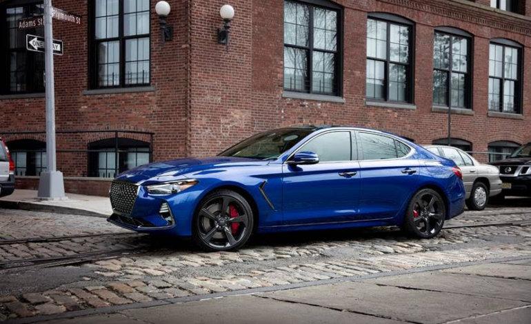سيارة جينيسيس G70 تفوز بجائزة أفضل سيارة سيدان فاخرة