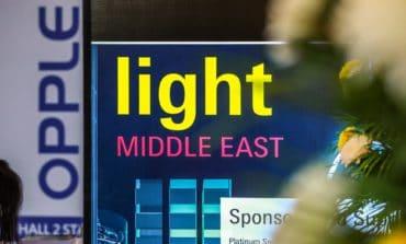 معرض الشرق الأوسط للإضاءة يسلط الضوء على فرص النمو في السوق الإقليمية