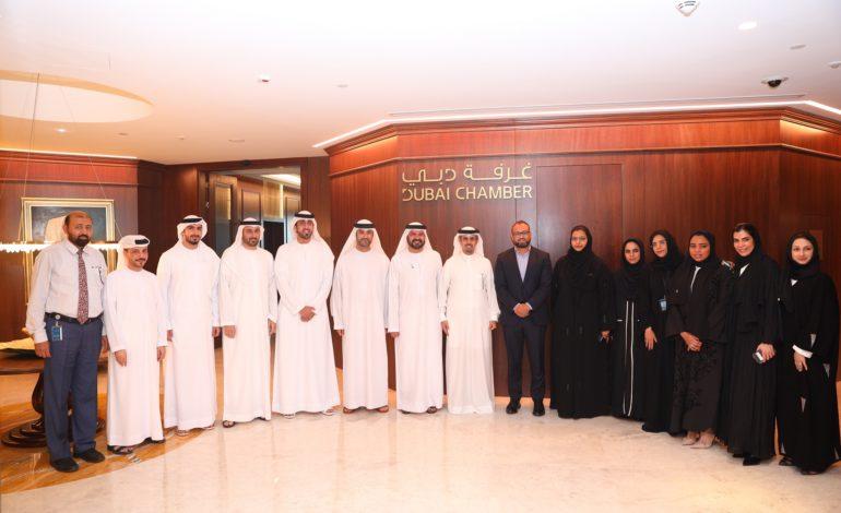 مذكرة تفاهم مشتركة بين غرفة دبي وموانئ دبي العالمية في إطار مشروع طريق الحرير الرقمي