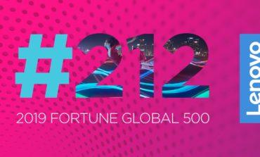"""لينوفو ترتقي 28 مركزاً على تصنيف """"فورتشن غلوبال 500"""""""