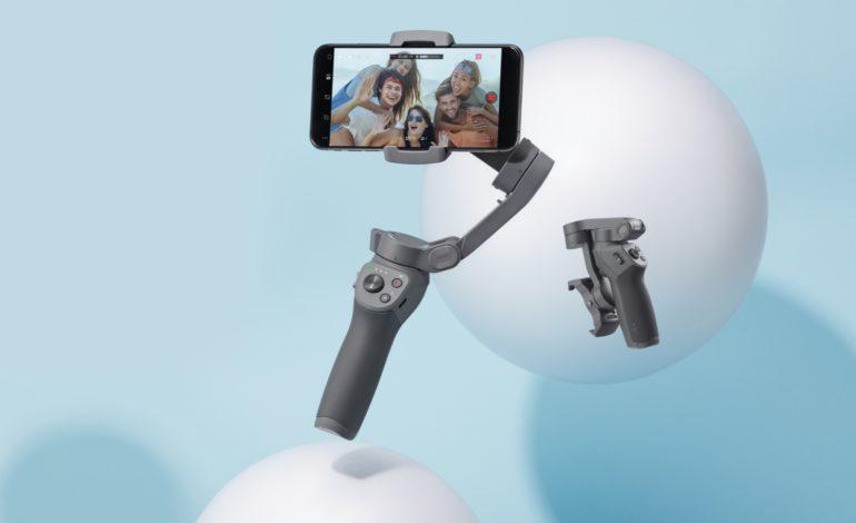 التقط لحظات لا تنسى بجودة سينمائية مع Osmo Mobile 3 المريح والقابل للطي