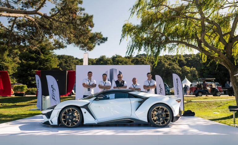 سيارة Fenyr SuperSport تخطف الأضواء خلالMonterey Car Week بالولايات المتحدة