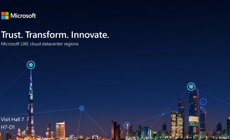 مايكروسوفت تستعرض قدرات سحابتها الذكية خلال معرض جيتكس 2019