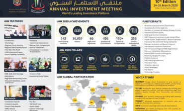 """انطلاق أعمال الدورة العاشرة """"ملتقى الاستثمار السنوي 2020"""" مارس المقبل"""