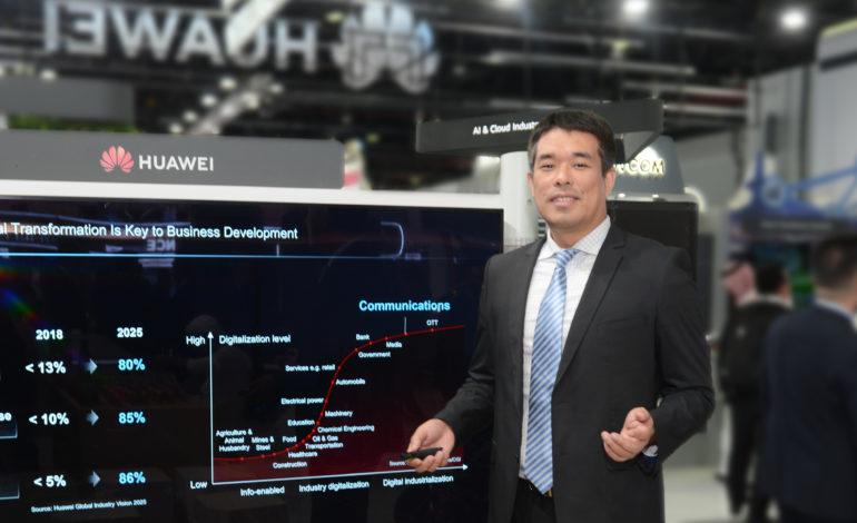 هواوي تطلق أحدث شبكات بيانات الجيل الخامس لدعم أعمال شركات الاتصالات