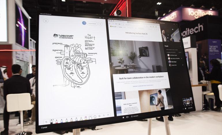 جهاز Surface Hub 2S المخصص لتمكين فرق الأعمال والمجموعات في سوق الإمارات
