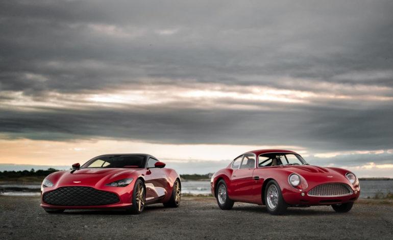 العرض العالمي الأول لمجموعة سيارات دي بي زد سنتناري من أستون مارتن