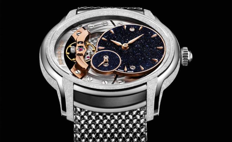 ساعة أوديمار بيغه الجديدة: ميليناري فروستد جولد أڤينتورين