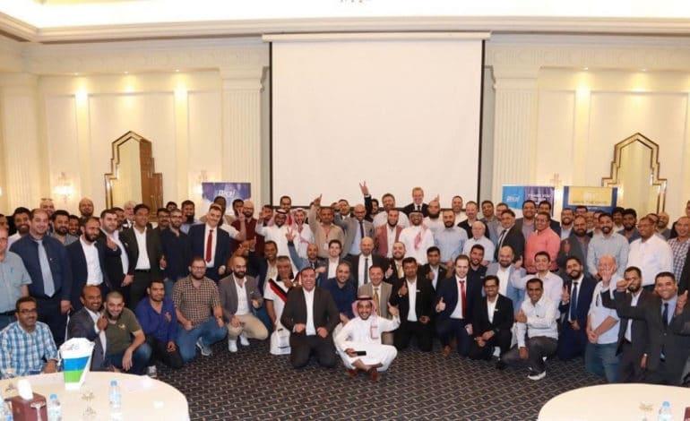 جمعية BICSI لتكنولوجيا المعلومات والاتصالات أقامت معرضها التقني المتنقلفي السعودية