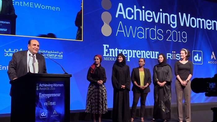 """دو تحصد جائزة """"أفضل شركة في مجال تمكين المرأة"""""""