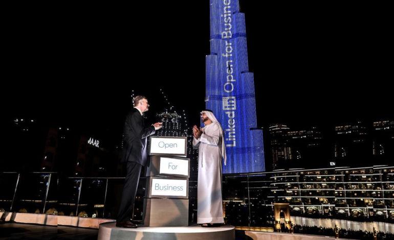 لينكدإن تطلق خاصية جديدة من دبي في حدث هو الأول من نوعه عالميا