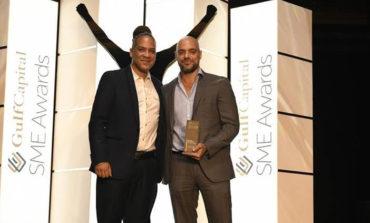 شركة تكنوليدج تحصد جائزة  SME Gulf Capitalكأفضل شركة رائدة في العمل الإلكتروني