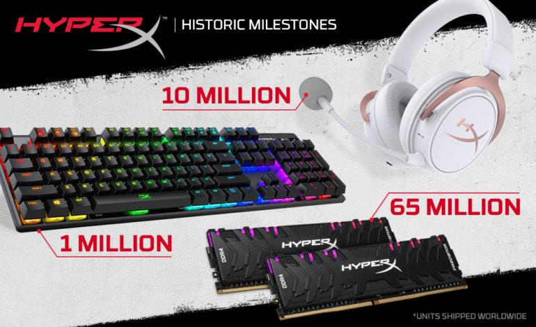 هايبر اكس تبيع 10 مليون سماعة ألعاب إلكترونية  حول العالم