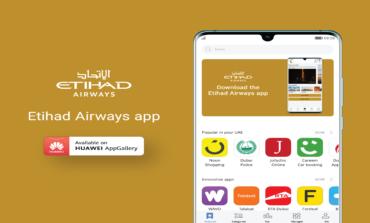 تطبيق الاتحاد للطيران بين تطبيقات أجهزة هواوي HUAWEI APPGALLERY