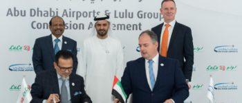 مطارات أبوظبي تخصص مساحات لتجارة التجزئة لمجموعة لولو في مبنى المطار الجديد
