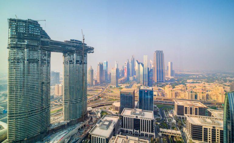 """إعمار تحتفل رسمياً بافتتاح الأيقونة الجديدة في أفق دبي """"العنوان سكاي فيو"""""""