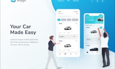 إنفيجو أول تطبيق في الشرق الأوسط وشمال إفريقيا للحصول على السيارات مقابل اشتراكات