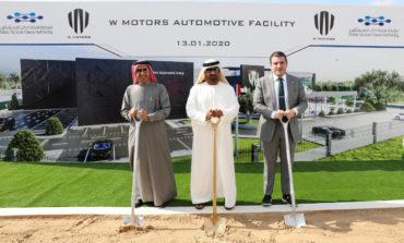 وضع حجر الأساس لمصنع دبليو موتورز في واحة دبي للسيليكون