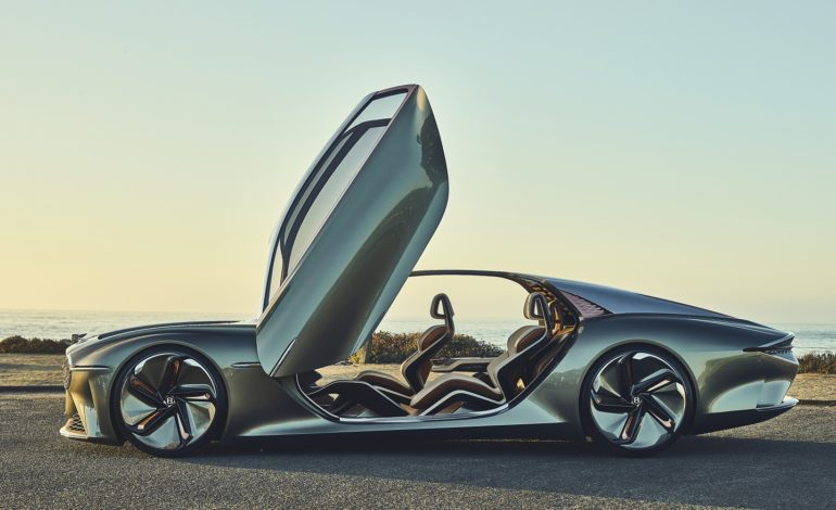 Bentley EXP 100 GT تحصل على لقب 'أجمل سيارة نموذجية للعام'