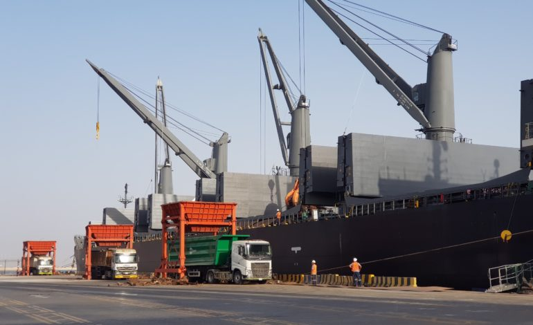 ميناء الملك عبدالله يدعم بريك بلك الشرق الأوسط 2020