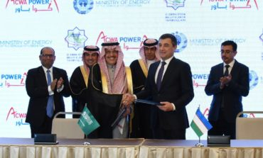 """""""أكوا باور"""" توقع اتفاقات استراتيجية مع وزارة الطاقة الأوزبكية"""