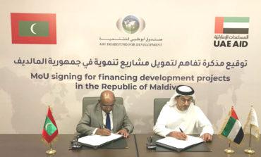 صندوق أبوظبي للتنميةيموّل مشاريع بقيمة 184 مليون درهم في المالديف