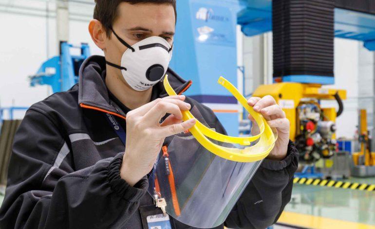 """""""إيرباص"""" تُصنع كمامات واقية باستخدام الطابعات ثلاثية الأبعاد لمواجهة فيروس كورونا"""