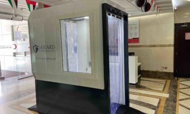 """بوابة """"غارد"""" للتعقيم، حل مبتكر صنع في دولة الإمارات لمكافحة فيروس كورونا"""