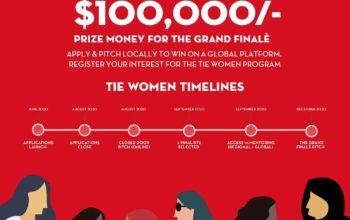 """قيمة الجائزة الكبرى 100,000 دولار أمريكي """"تاي دبي"""" تعلن عن مسابقة """"تاي للنساء"""" رائدات الأعمال في المنطقة"""