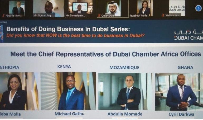 غرفة دبي تطلق سلسلة من الندوات الافتراضية للترويج لدبي في الأسواق الأفريقية