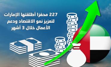 227 محفزا أطلقتها الإمارات