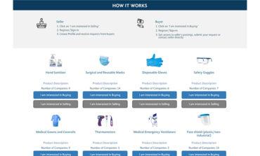 غرفة دبي تطلق منصة إلكترونية مبتكرة لتوفير معدات الوقاية الشخصية لدعم جهود مكافحة انتشار كوفيد-19