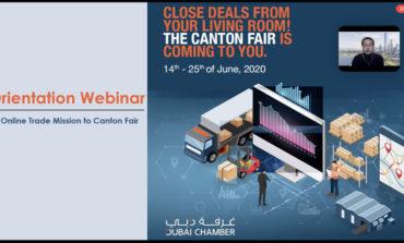 غرفة دبي تختتم بعثة تجارية افتراضية إلى معرض كانتون في الصين
