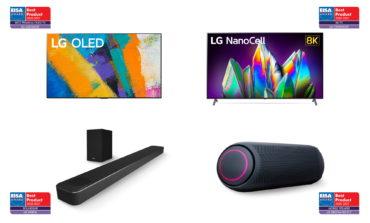 تلفزيونات وأجهزة صوت إل جي الرائدة في القطاع تفوز بالعديد من جوائز EISA لعام 2020