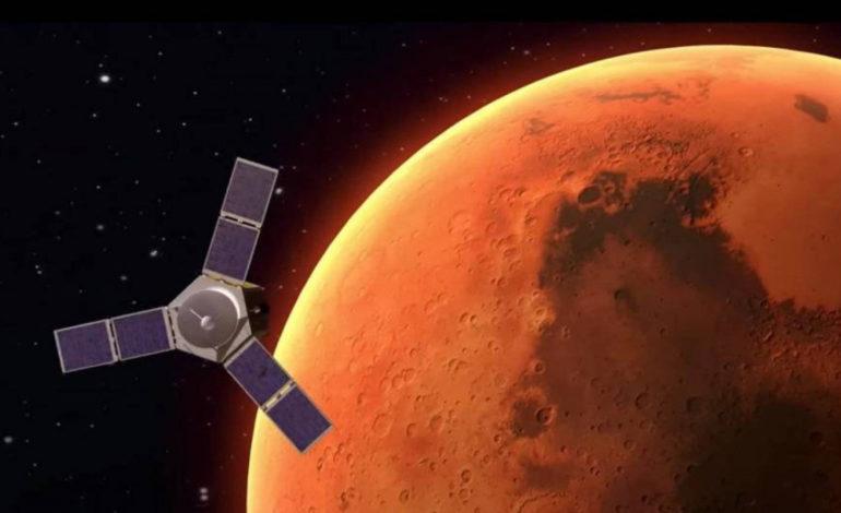 محمد بن راشد يعلن أن مسبار الأمل قطع خمس المسافة إلى الكوكب الأحمر