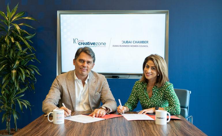 """شراكة بين مجلس سيدات أعمال دبي و""""كرييتيف زون"""" لدعم 100 من رائدات الأعمال بالدولة"""