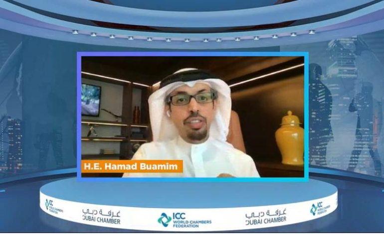 غرفة دبي تطلق سلسلة لقاءات غرف التجارة الافتراضية لبحث تحديات كوفيد-19 على قطاع الأعمال