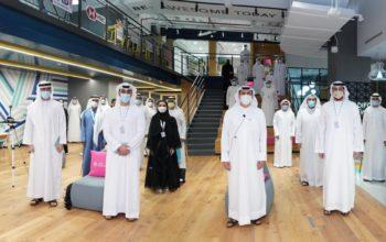 """""""دبي المالي"""" يستضيف الدفعة الأولى من الطلبة الإماراتيين ضمن برنامج الاقتصاديين الشباب"""