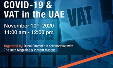 غرفة دبي تناقش أمام مجتمع الأعمال تأثير كوفيد-19 على ضريبة القيمة المضافة بالدولة