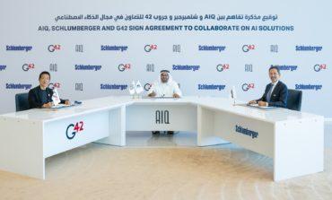 """تعاون بين """"AIQ"""" و""""شلمبرجير"""" و''جروب 42'' لتعزيز تطبيقات الذكاء الاصطناعي في قطاع النفط والغاز"""