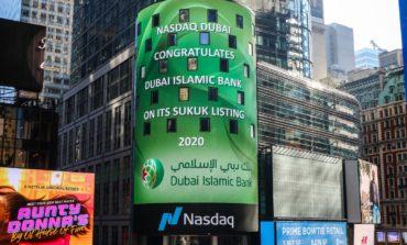 """"""" دبي الإسلامي """" يقرع جرس افتتاح سوق ناسداك دبي احتفالاً بإدراج صكوك بقيمة مليار دولار"""