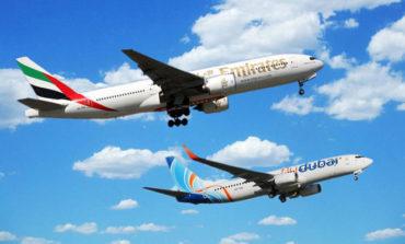 """""""استعادة 70 و50% من وجهات """"طيران الإمارات"""" و""""فلاي دبي"""