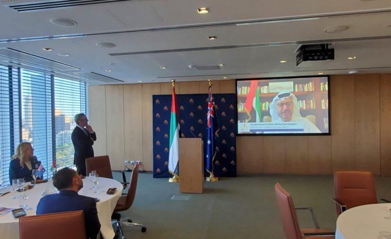 إطلاق مجلس الأعمال الإماراتي الأسترالي لتعزيز العلاقات  الثنائية