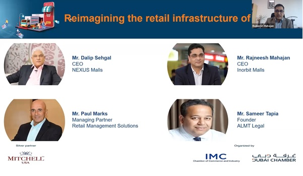غرفة دبي تبحث مع الشركات الهندية متغيرات سوق التجزئة ومزايا التوسع في دبي