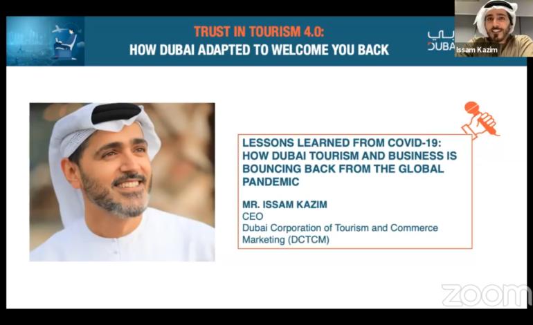 غرفة دبي تطلع المستثمرين في أمريكا اللاتينية على نموذج الإمارة الناجح في مواجهة تحديات كوفيد-19 على قطاع السياحة