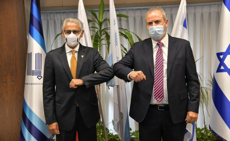 مذكرة تفاهم بين بورصة البحرين وبورصة الألماس الإسرائيلية