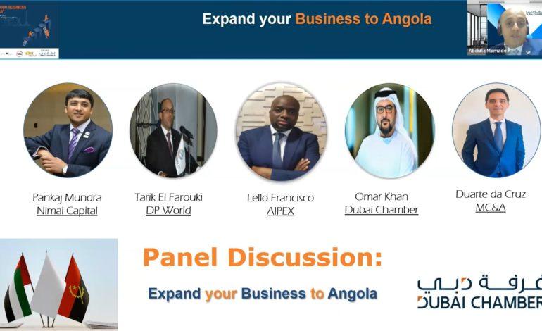 غرفة دبي تسلط الضوء على الفرص الاستثمارية والتجارية الواعدة في أنغولا