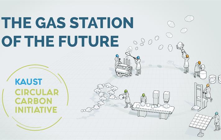 كاوست تطلق مبادرة الكربون الدائري