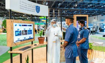 كلية محمد بن راشد للإدارة الحكومية تستعرض منصة التعليم التنفيذي الذكية خلال جيتكس